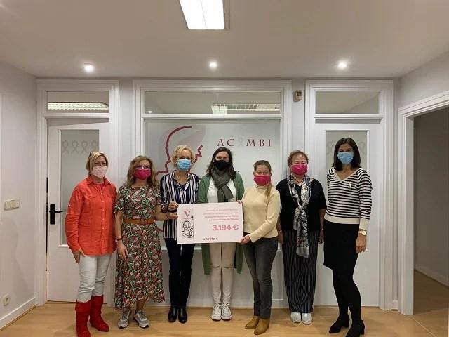 Donamos más de 20.000€ a asociaciones que luchan contra el cáncer de mama - Veritas