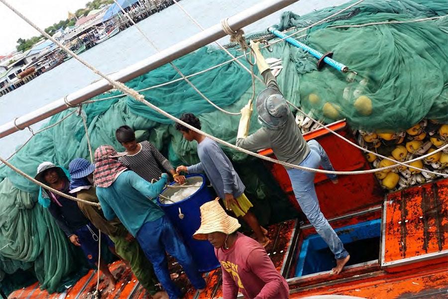 Thai Shrimp Fishermen
