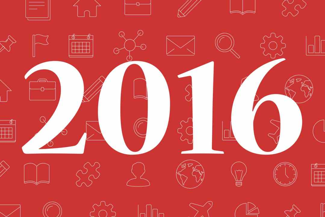2016 with icons