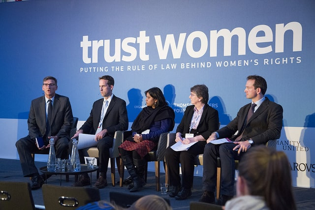 """Slavery in the Supply Chain"" at Trust Women Conference"