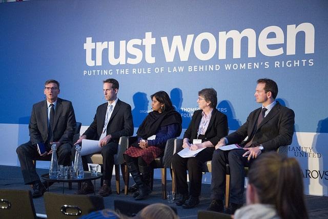 Dan Viederman at Trust Women Conference