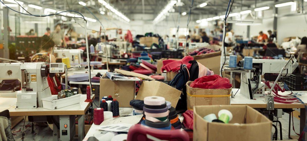 An apparel factory