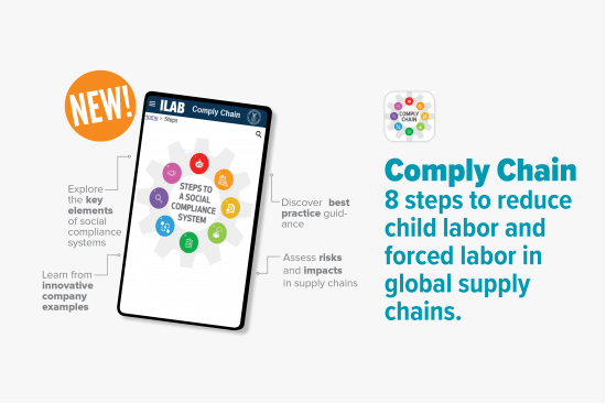 ILAB Releases Annual Child Labor Report and New Comply Chain App