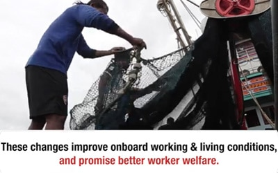 Mechanization of Thai Purse Seiners: A business case study to improve working and living conditions