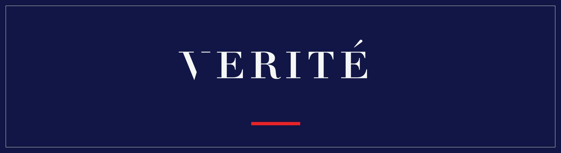 Verite Design Group Inc. Logo Banner