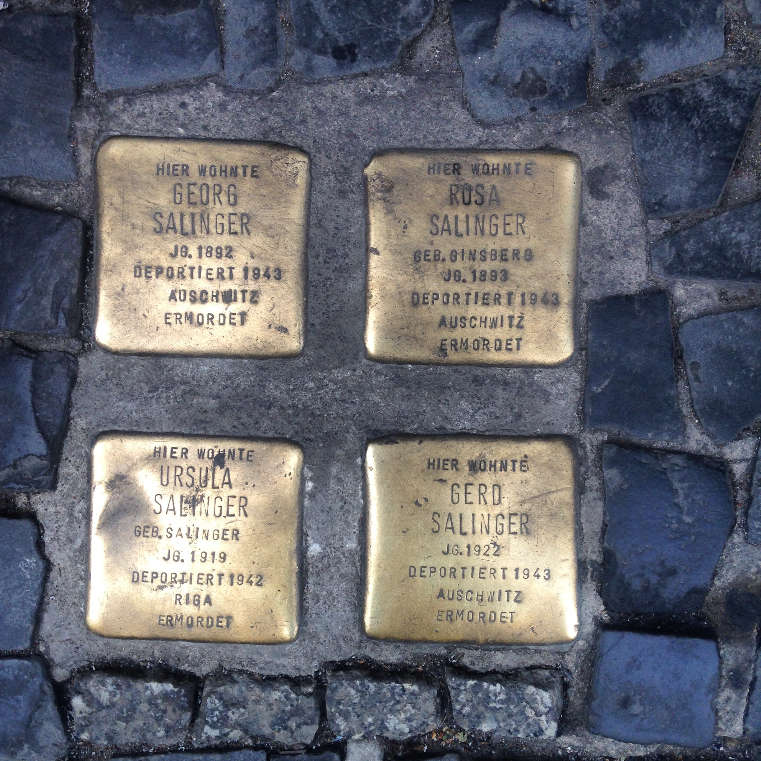 Inspire a Visit to Berlin Jewish Memorial Squares