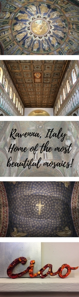 Ravenna, Italy - Home of the most beautiful mosaics! Ravenna is best known for it's range of beautiful mosaics of which there are many! Here's my route to view the best monuments in Ravenna including Basilica diSant'Apollinare Nuovo, Battistero Neoniano, Mausoleo di Galla Placidia, Archiepiscopal Museum, Battistero degli Ariani, Basilica di San Vitale and Dante's Tomb. - Veritru