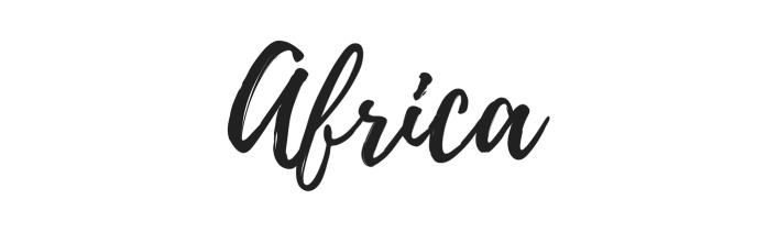 Africa - Where I've Been