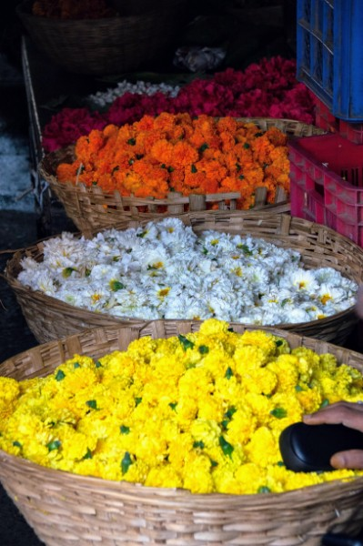 flowers Crawford Market latkans - Veritru - Mumbai, India