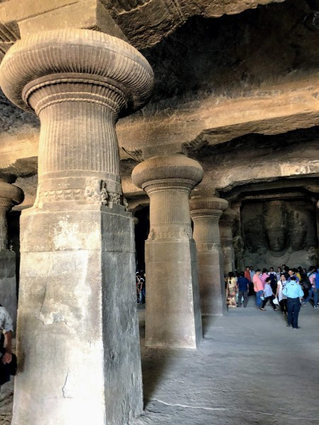 Caves in Elephanta Island - Veritru - Mumbai, India