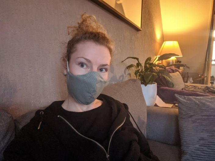 Making a face mask - step by step instructions