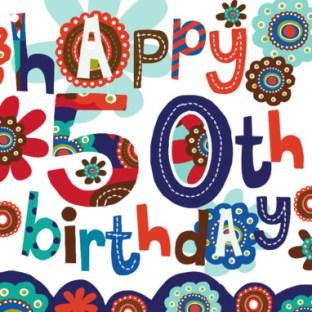 Verjaardagswensen 50 jaar Abraham