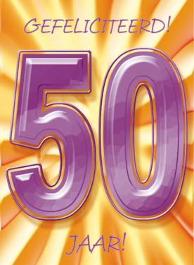Bedwelming Verjaardagswensen 50 jaar ⋆ Gefeliciteerd 50 jaar teksten! #BS14