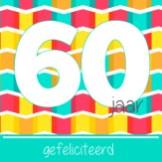 Verjaardagswensen 60 jaar kaartje