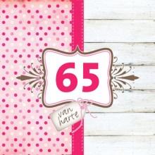 Verjaardagswensen 65 jaar