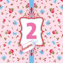 Verjaardagswensen 2 jaar