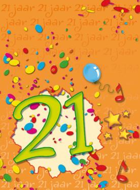 21 verjaardagswensen
