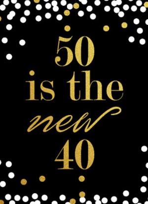 Wonderlijk 50 jaar verjaardagskaart ⋆ Verjaardagswensen XM-08