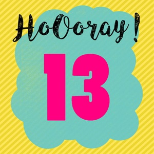 Gefeliciteerd 13 Jaar Van Harte Gefeliciteerd Met Je 13e
