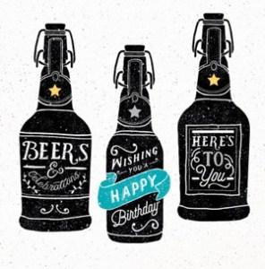 Gefeliciteerd bier