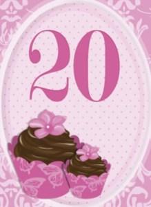 Verjaardag 20 jaar