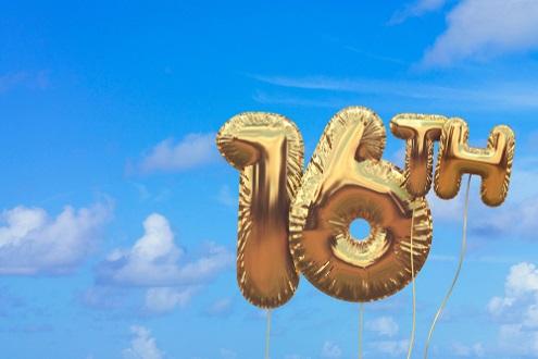 Beste 16 jaar verjaardagswensen. Mooie 16 jaar en sweet sixteen wensen. VE-27