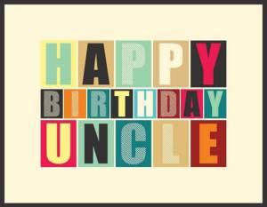 Verjaardag oom