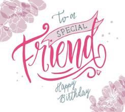 Verjaardagstekst vriend
