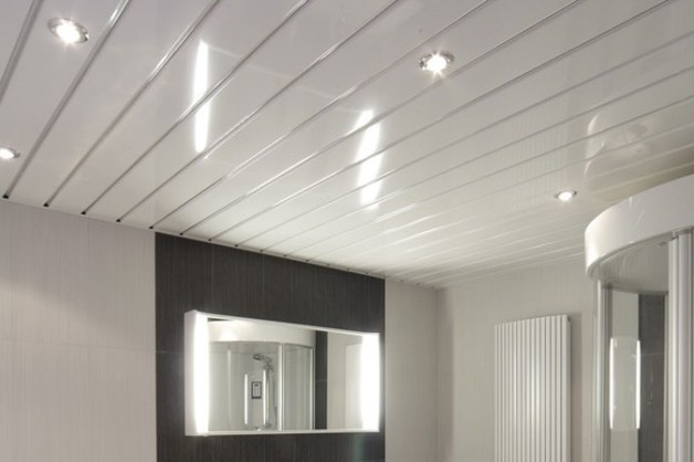 Aluminium Plafond Badkamer