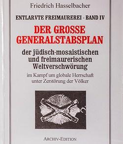 Friedrich Hasselbacher: Entlarvte Freimaurerei - Band IV