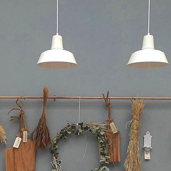 Berlin hanglamp wit - Verlichting van Toen