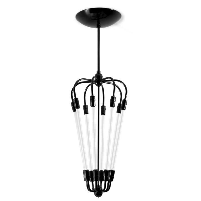 Ebolicht Mannheim Pijl 8 industriele hanglamp - Verlichting van Toen