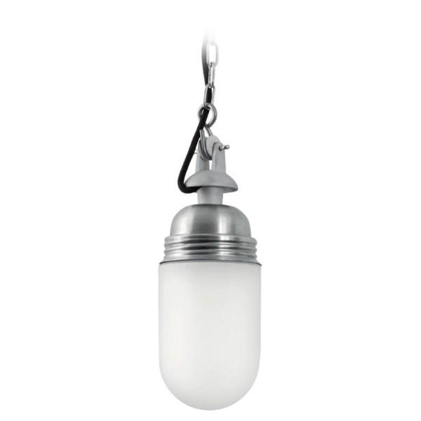 Ebolicht hanglamp Bruggen zylinder - staal onbehandeld - Verlichting van Toen