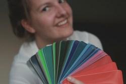 RAL-kleur Roxanne met kleurwaaier - Verlichting van Toen