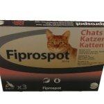 CEVA Fiprospot Anti-parasitaire pour Chat 3 Pipettes