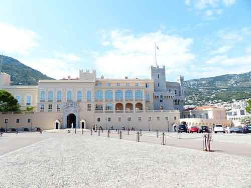 Detalle del Palacio del Príncipe de Mónaco
