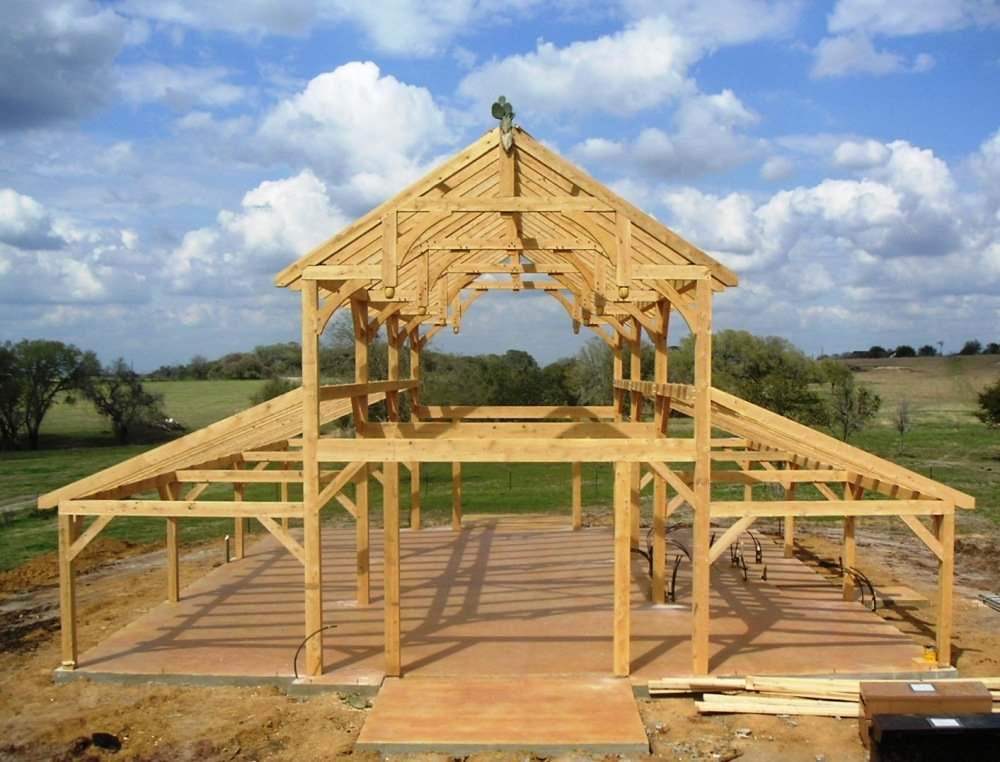 Post and Beam Construction   Building with Wood What is Post and Beam  Home Construction