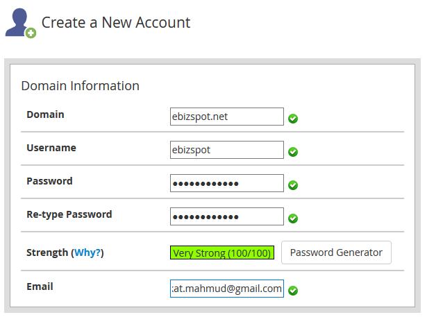 Domain Info