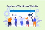 duplicate wordpress website