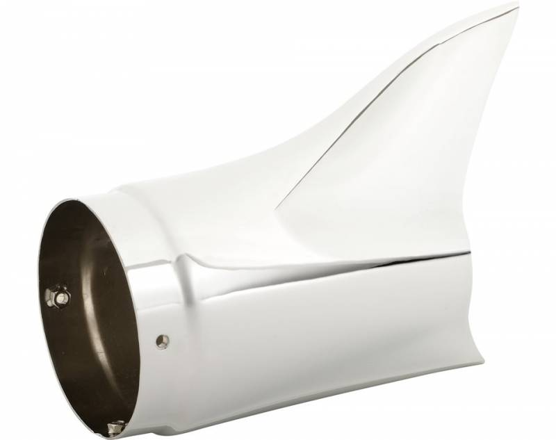 indian motorcycle exhaust fishtail tips