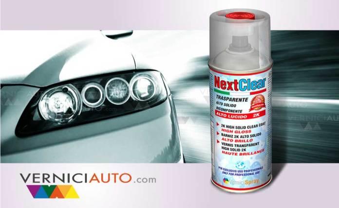 vernici auto spray nextclear