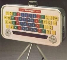 Typomat scherm