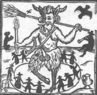 Het wezen Puck uit Shakespeares A Midsummer Night's Dream (uit: Robin Goodfellow, His Mad Pranckes and Merry Jests, 1639)