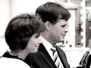 Jan Peter Balkenende en zijn vrouw Bianca Hoogendijk (Roel Wijnants CC-A 2.0 U)