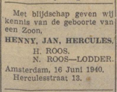 Het Nieuws van den Dag, 18 juni 1940