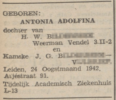 De Zwarte Soldaat, 4 september 1942