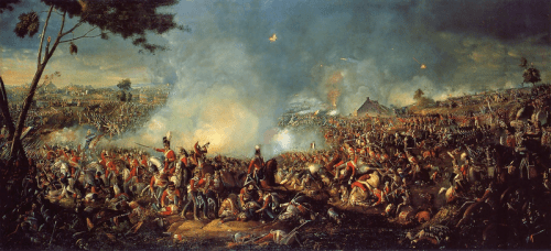 William Sadler (1782–1839): de Slag bij Waterloo