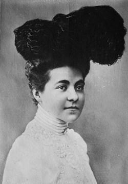 Keizerin Hermine, de tweede vrouw van keizer Wilhelm II