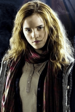 Hermelien Griffel of Hermione Granger uit Harry Potter, in de films vertolkt door Emma Watson