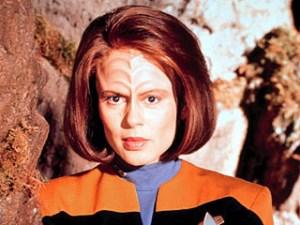 B'Elanna Torres uit Star Trek: Voyager. De voornaam B'Elana is in 2005 geweigerd.